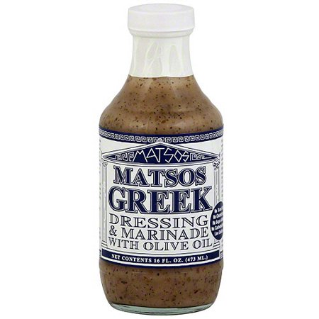 Matsos Dressing   Marinade With Olive Oil  16 Oz  Pack Of 6