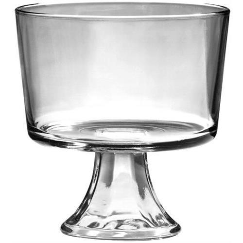 Anchor Hocking 86777L8 Presensce Footed Trifle Clear Glassware, Open Stock by