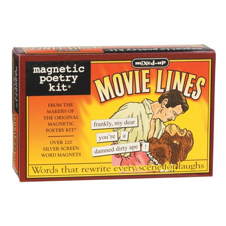 Magnetic Poetry Kit (Magnetic Poetry Kit, Mixed Up Movie Lines)