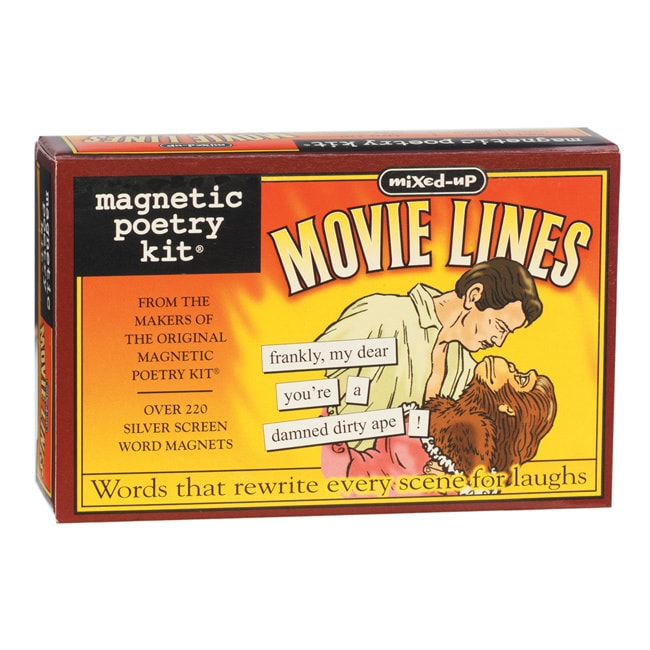 Magnetic Poetry Kit, Mixed Up Movie Lines