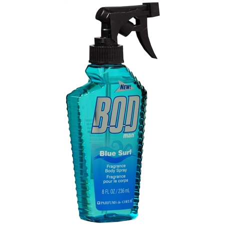BOD man Body Spray Blue Surf 8.0 oz.(pack of 12)