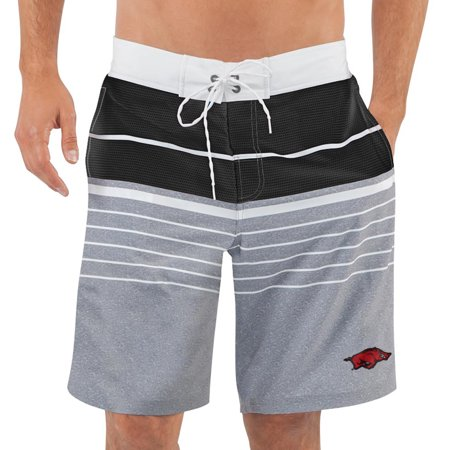 Arkansas Razorbacks G-III Sports by Carl Banks Balance Swim Trunks - Black -