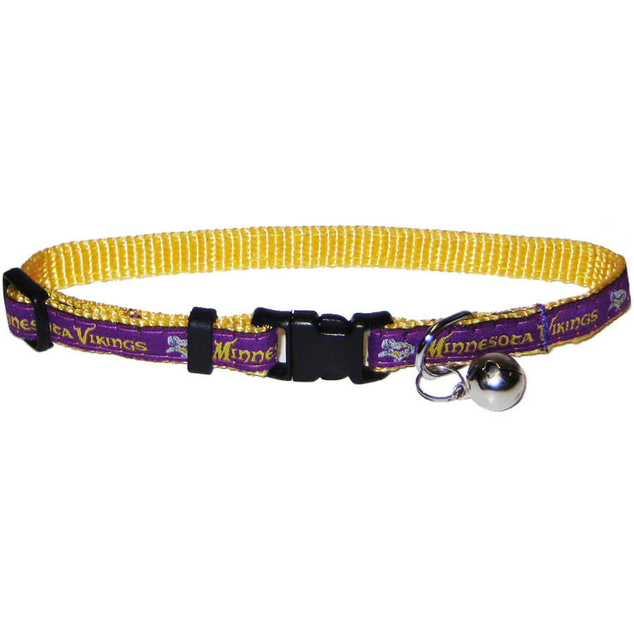 Pets First NFL Minnesota Vikings Cat Collar