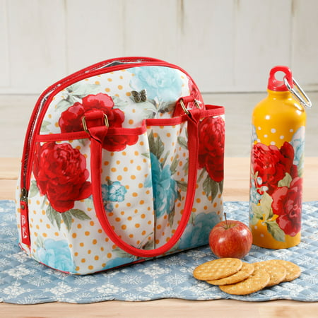The Pioneer Woman Blossom Jubilee Lunch Tote w/ Hydration Bottle](Halloween Potluck Lunch)