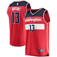 Thomas Bryant Washington Wizards Fanatics Branded Fast Break Replica Jersey - Icon Edition - Red