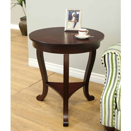 Home Craft Burl Accent Table ()