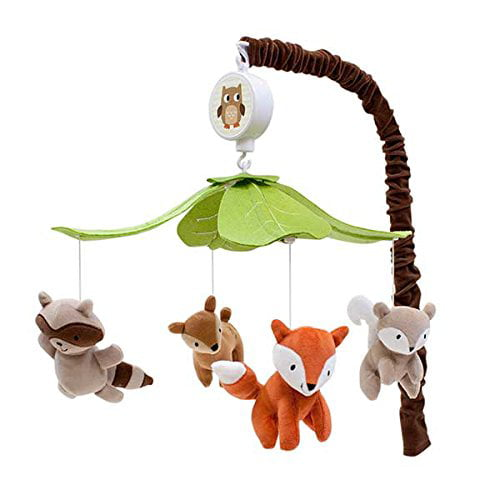 Click here to buy Woodland Tales Musical Mobile by Lambs %26 Ivy.
