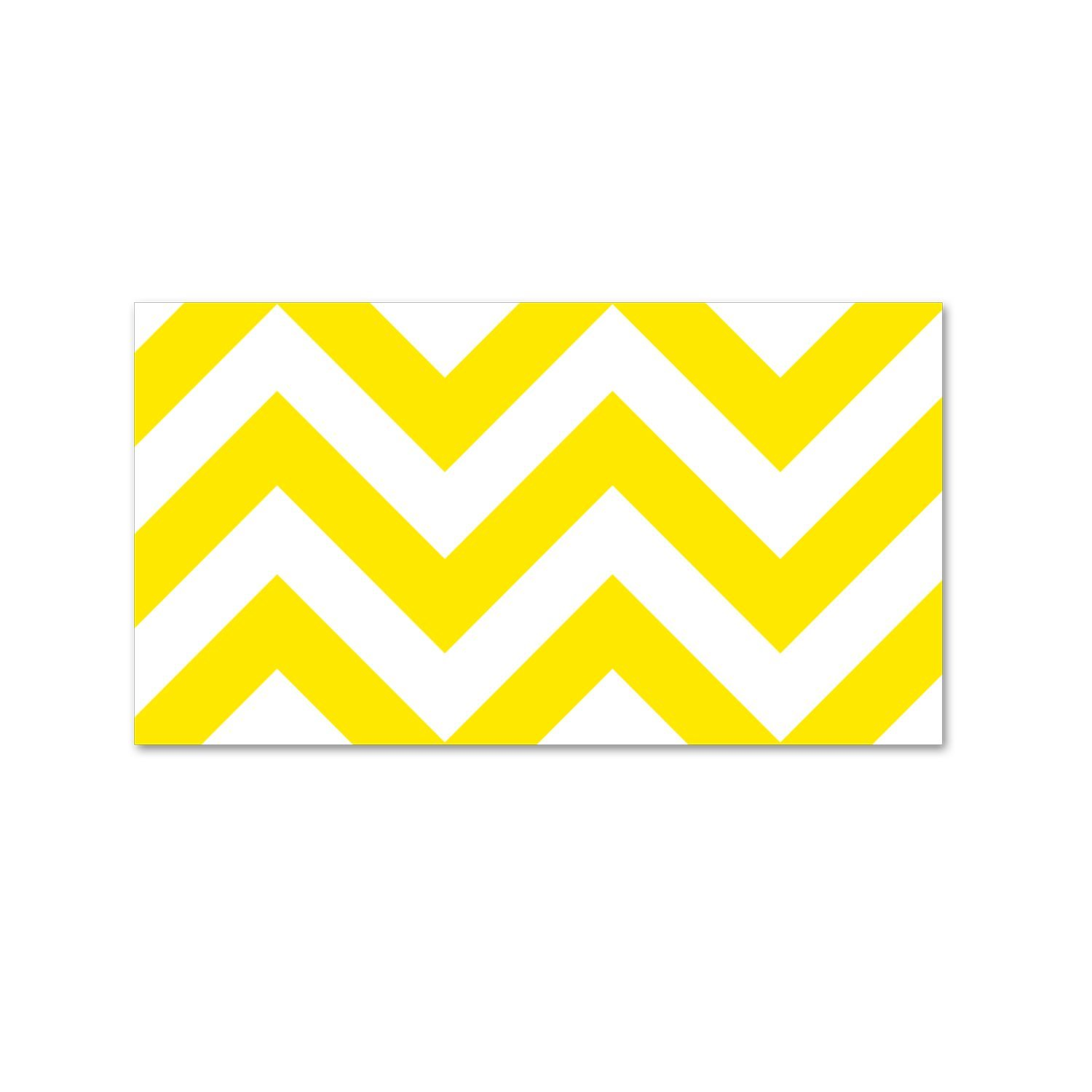Creative Teaching Press CTP0175 Yellow Chevron Border