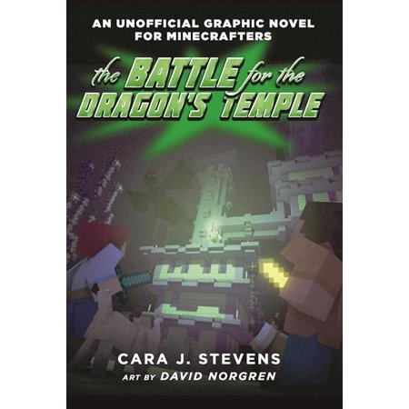 The Battle for the Dragon's Temple: An Unofficial Graphic Novel for Minecrafters, #4 - Paperback Graphic