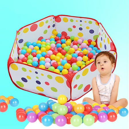 "47""x47"" Large Foldable Kids Ocean Pool Ball Game Children Pit Play Toy Tent Baby Safe Playpen (Not Included Balls)"