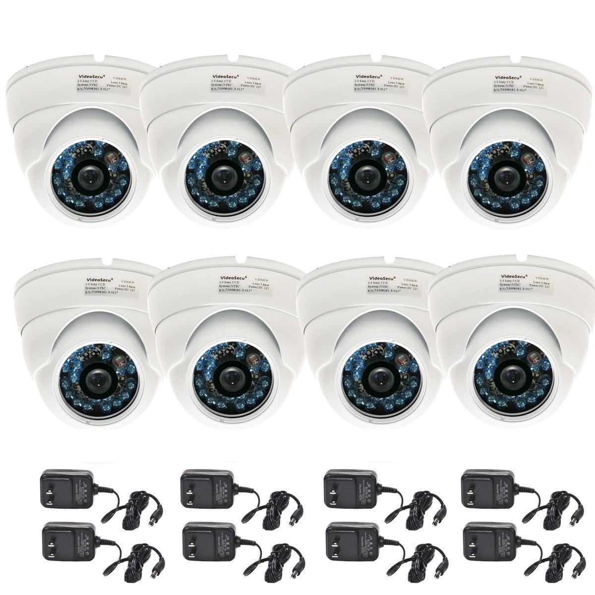 VideoSecu 8x Outdoor Security Camera IR Night Vision Buil...