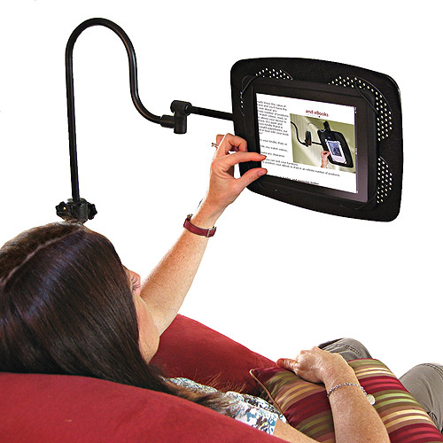Levo 33478 Deluxe Floor Stand /& holder for Tablets and eReaders Black