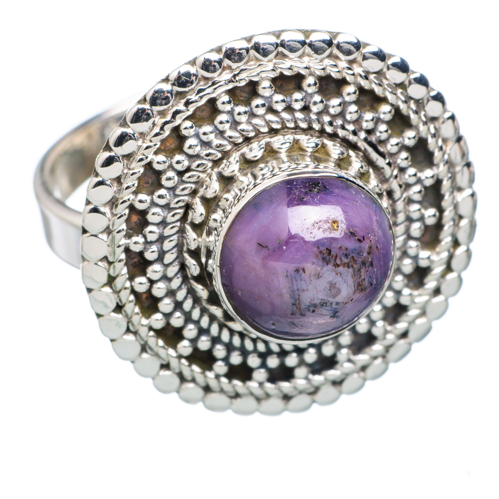 Ana Silver Co Star Ruby 925 Sterling Silver Ring Size 9.25 RING714380