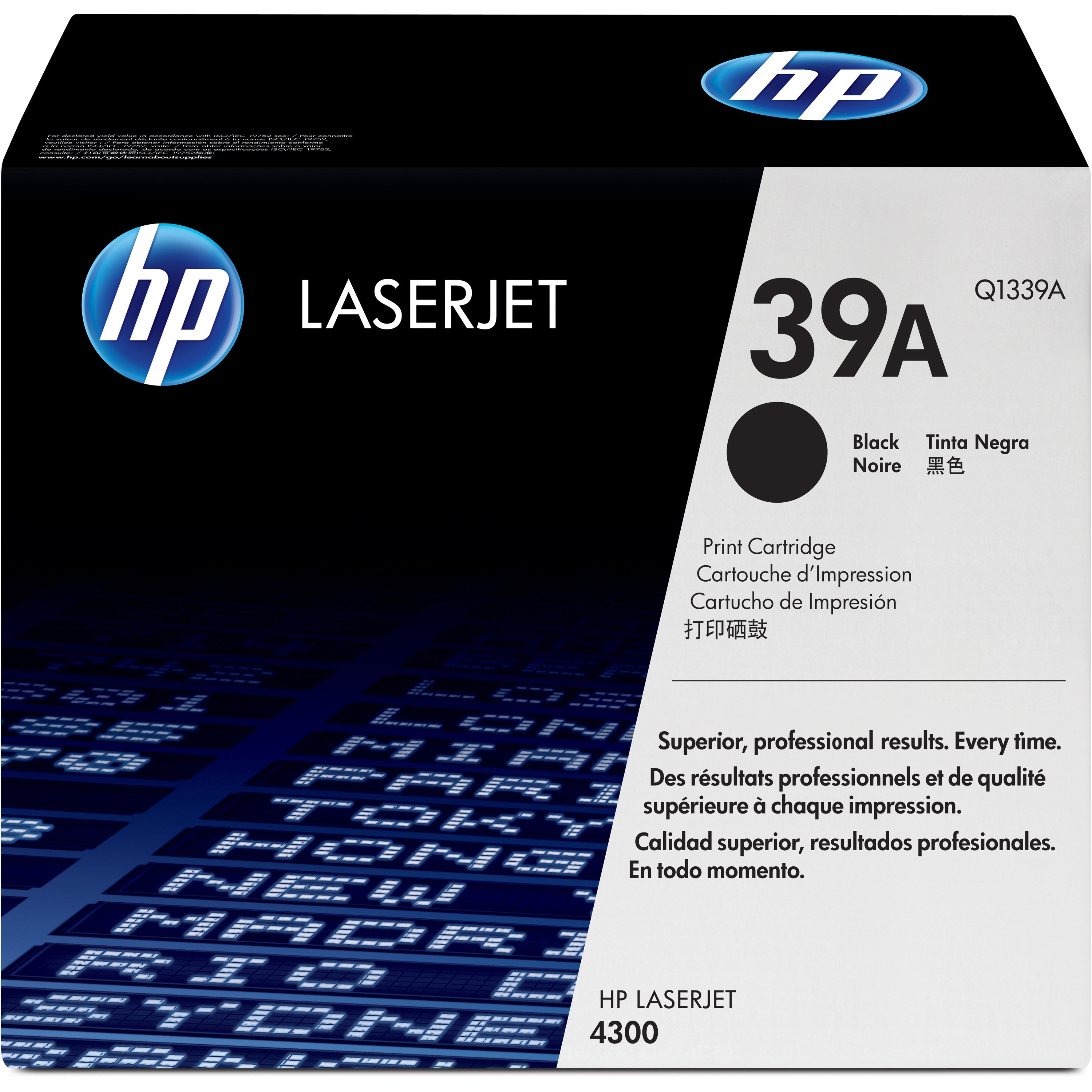 HP, HEWQ1339A, Q1339A Toner Cartridge, 1 Each