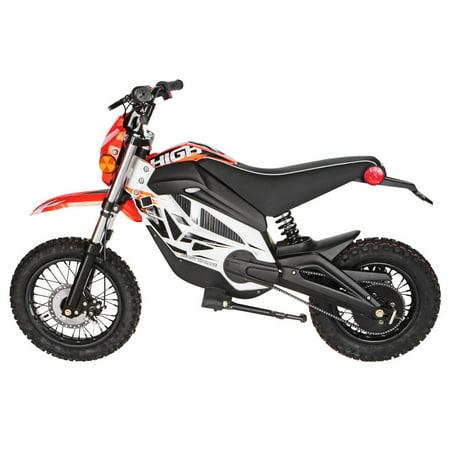 "T4B HIGH99 Kids Starter Mini Dirt Bike, 850W Brushless Electric Motor, Off-Road Scooter, 36V12Ah Motocross 18"" Wheel for Kids 9-yo and above - Orange - image 3 de 7"