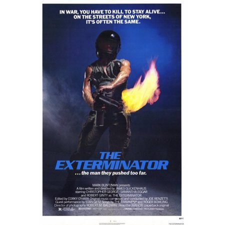The Exterminator POSTER Movie (27x40)
