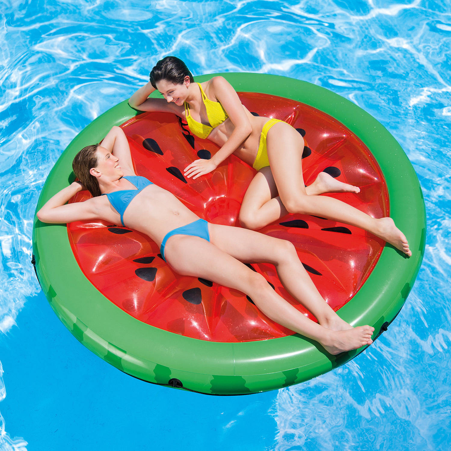 "Intex Inflatable Watermelon Island Float Lounge, 72"" x 9"""