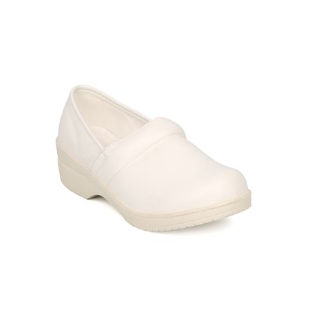 (Women Round Toe Slip On Clog - Work Clog - Nurse Shoe - Walker Shoe - Dakota I By B.Dunn)