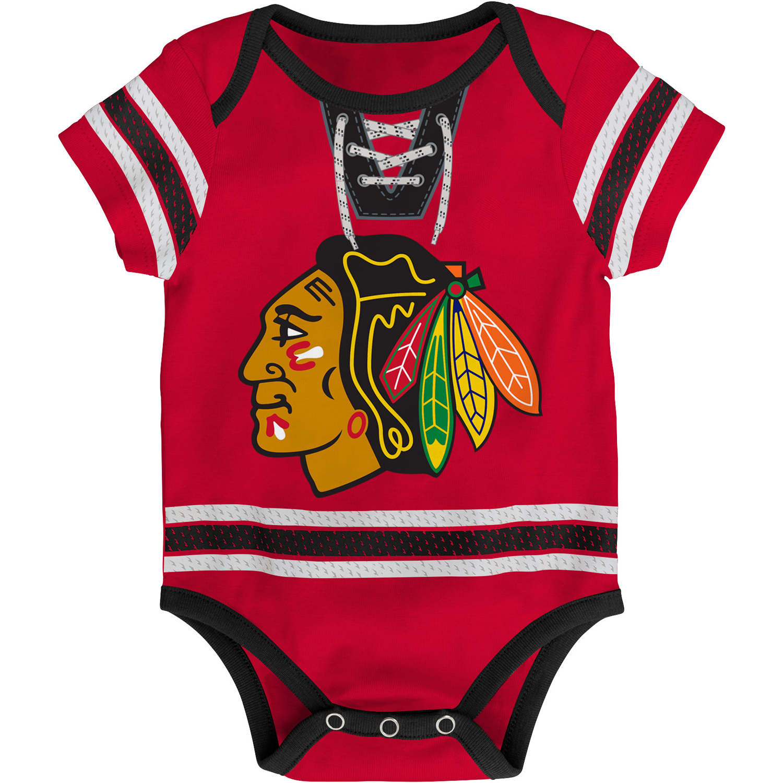 Chicago Blackhawks Infant Cherry Picking Creeper - Red