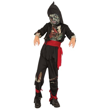 Zombie Ninja Child Costume - Medium - Ty Costume