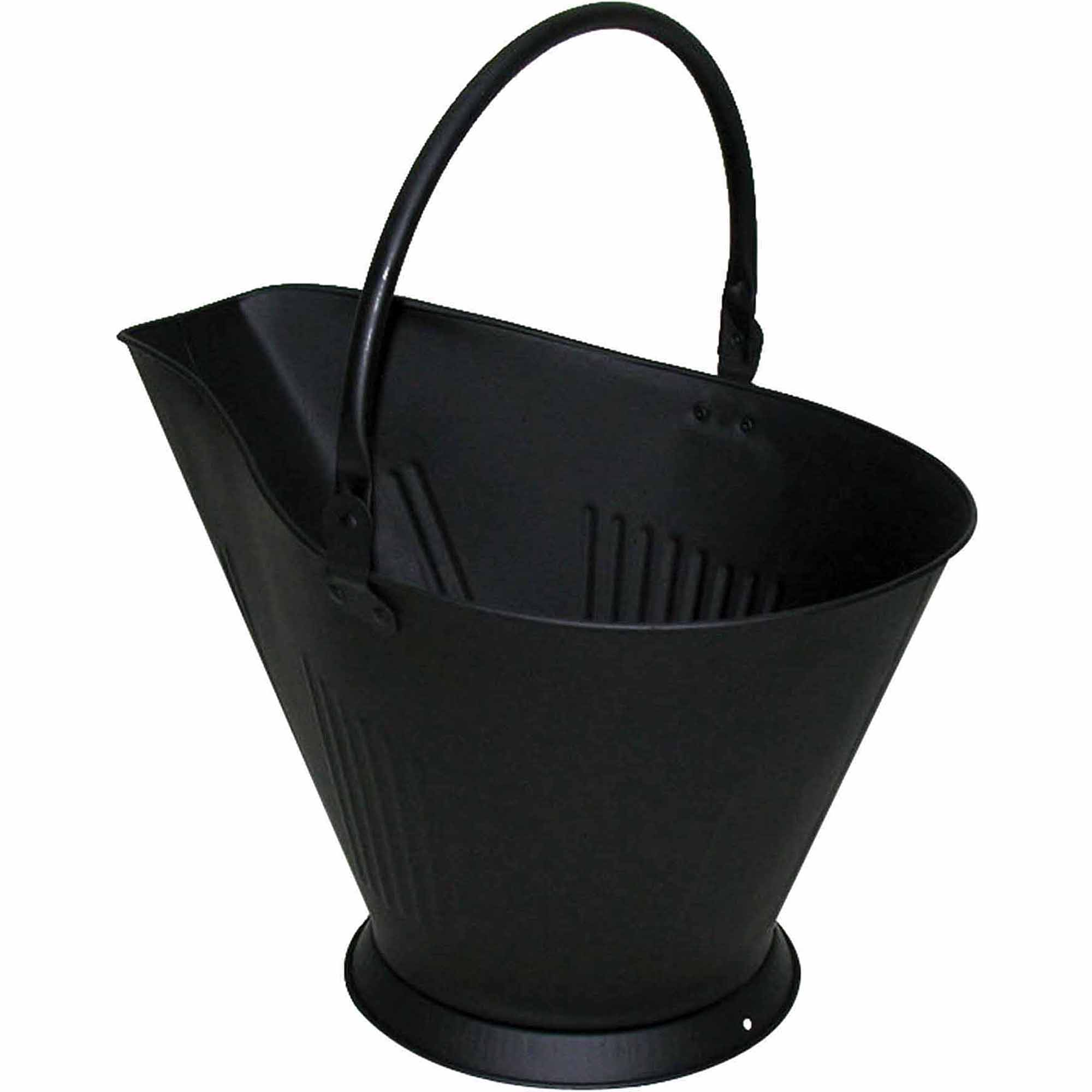 Pleasant Hearth Coal Hod, Black
