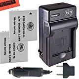 BM Premium 2_Pack of NB_4L Batteries & Battery Charger Ki...