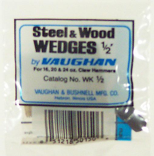 """Vaughan WK1/2 1/2"""" Handle Wedge Kit"""