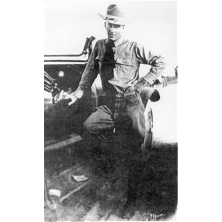 LAMINATED POSTER Sidney Johnson Brooks, Jr., the first flying cadet to lose his life in San Antonio during training p Poster Print 24 x 36 ()