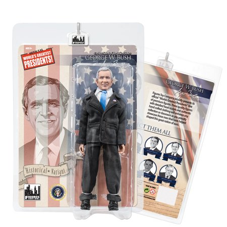 US Presidents 8 Inch Action Figures Series: George W. Bush [Gray Suit