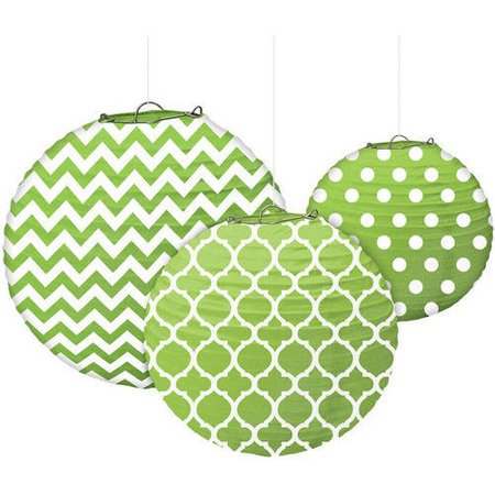 Designs Paper Lanterns, 3ct (Paper Latern)