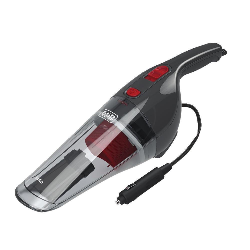 BLACK+DECKER 12V Compact Automotive Car Vacuum, BDH1200NVAV
