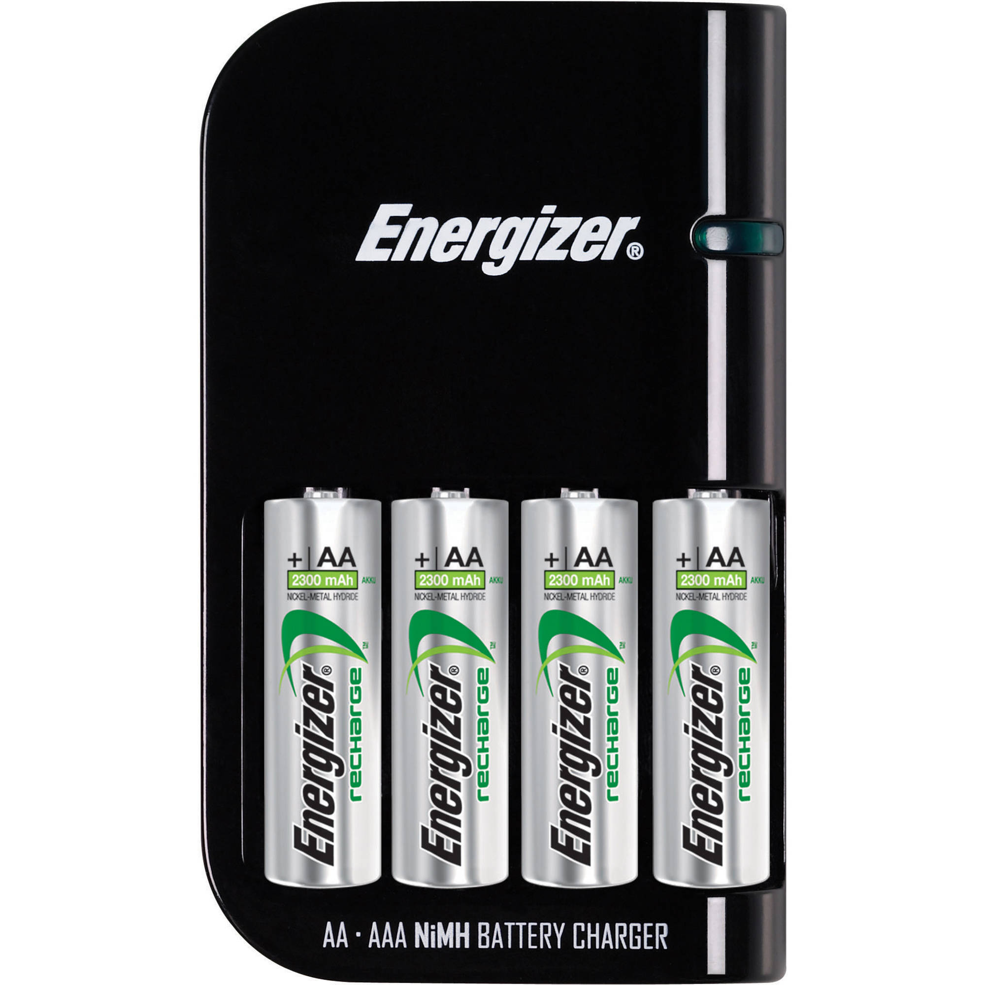 Energizer Rapid Battery Charger with 4 AA Batteries