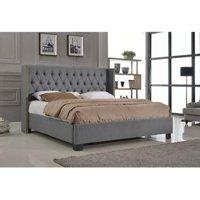 Milton Greens Stars Audrey Upholstered Wingback Platform Bed