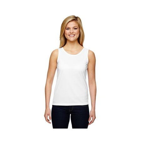 Women's Wicking Knit Training Tank, Style - Graphite Training Top