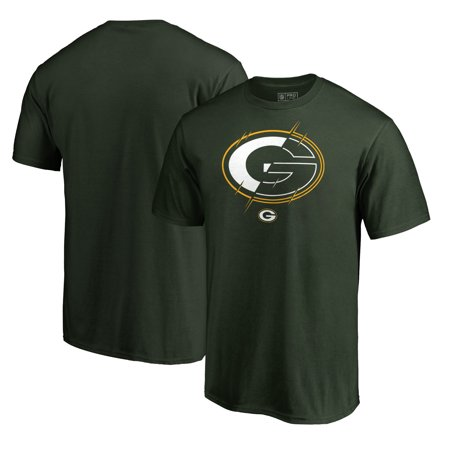 Green Bay Packers NFL Pro Line by Fanatics Branded X-Ray T-Shirt - Green](Nfl Green Bay Packers)