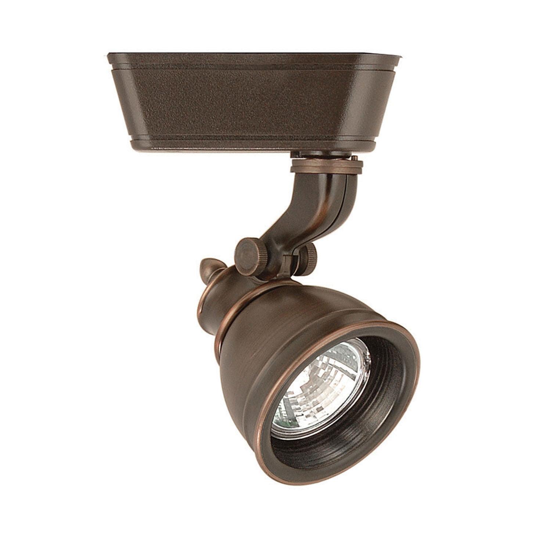 WAC Lighting 50W Caribe MR16 Antique Bronze J Series Track Head