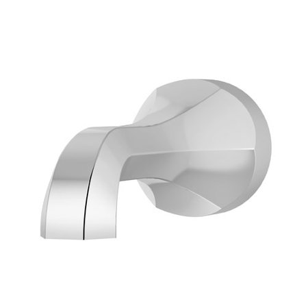 Canterbury Non-Diverter Tub Spout in Polished Chrome - Fit Tub Spout Polished Brass