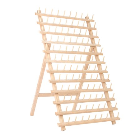 120 Spool Wood Sewing & Embroidery SEWING & KNITTING SUPPLIES Thread Rack Stand Organizer Craft Storage