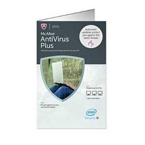 Pc Software Mcafee Antivirus Plus 2015 3pc