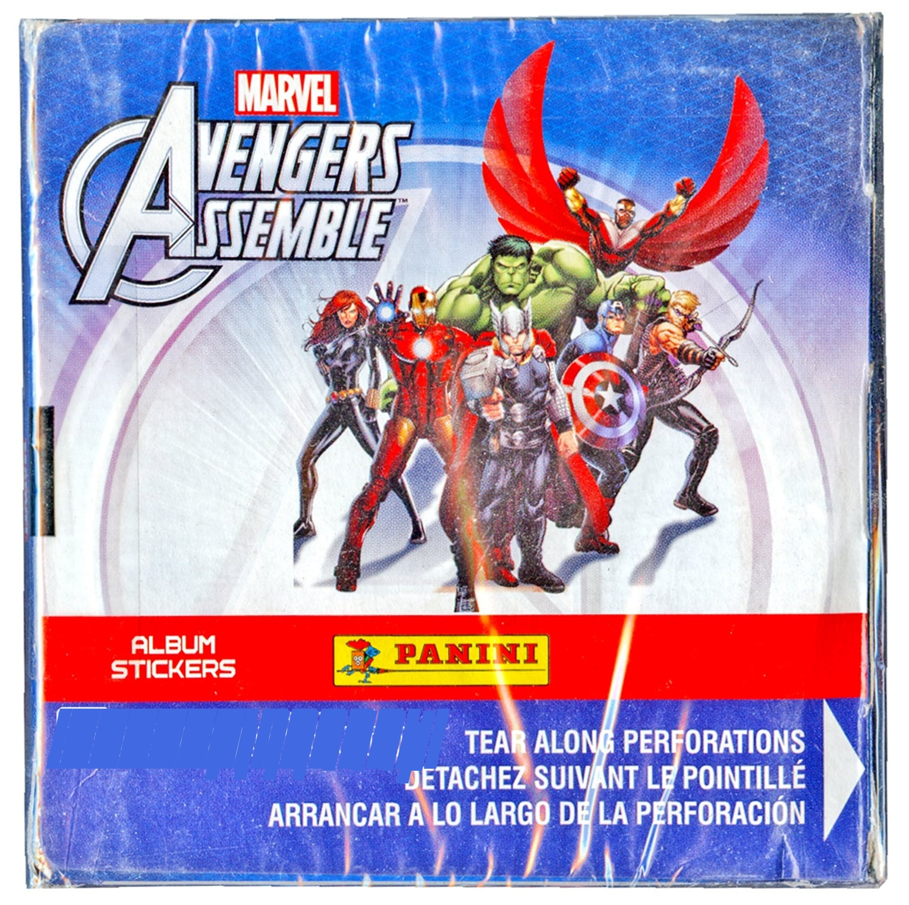 Panini Marvel Avengers Assemble 50 Packs Sticker Box