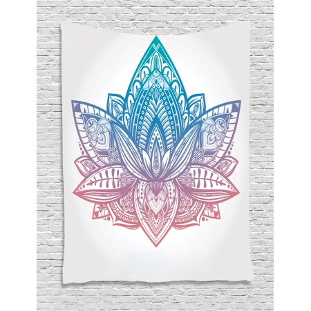 Yoga tapestry tribal patterned boho ornamental lotus flower sacred yoga tapestry tribal patterned boho ornamental lotus flower sacred spiritual artwork wall hanging for mightylinksfo
