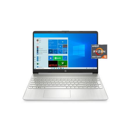 """HP 15.6"""" FHD, Ryzen 5-5500, 8GB RAM, 256GB SSD, Silver, Windows 10 Home, 15-ef2127wm"""