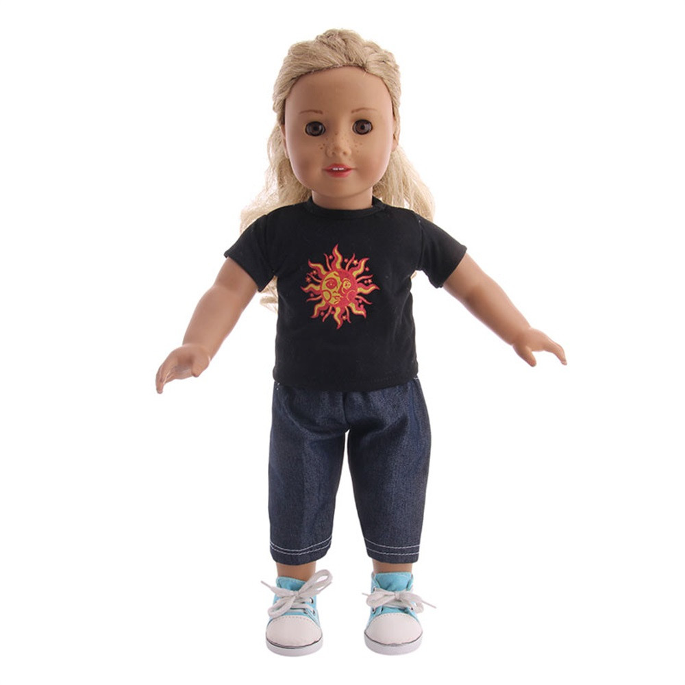 High-Quality Sportswear For 18 inch Our Generation American Girl Doll