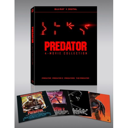 Predator 1-4 (Blu-ray + Digital Copy) (Rb2027 Predator 2)