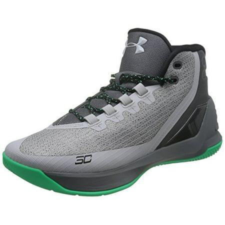 ae67828b Under Armour UA Curry 3 Basketball Shoe Mens Green 11.5