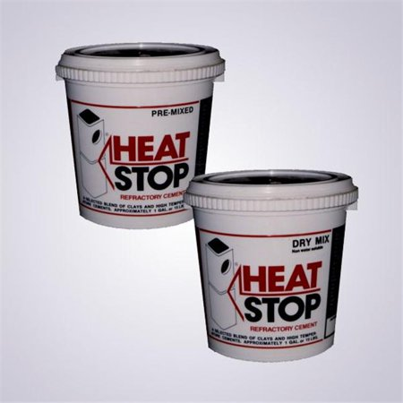 Heat Stop Pre-Mix-50Lb (Chimney Heat Reclaimer)