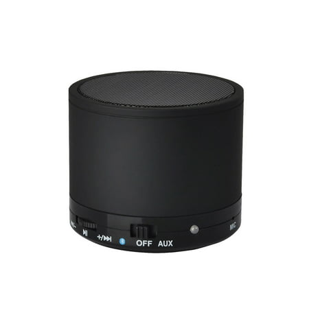 Rechargeable Bluetooth Portable Wireless Mini Speaker for iPhone, iPad, MP3 and Computers - Black