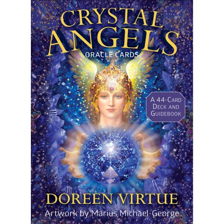 Crystal Angels Oracle Cards : A 44-Card Deck and Guidebook (Guardian Angels Tarot Cards)