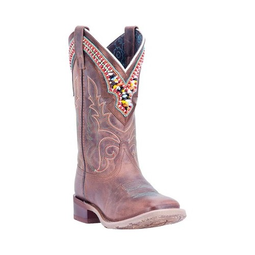 Women's Laredo Beko Broad Square Toe Cowgirl Boot 5653 by Laredo