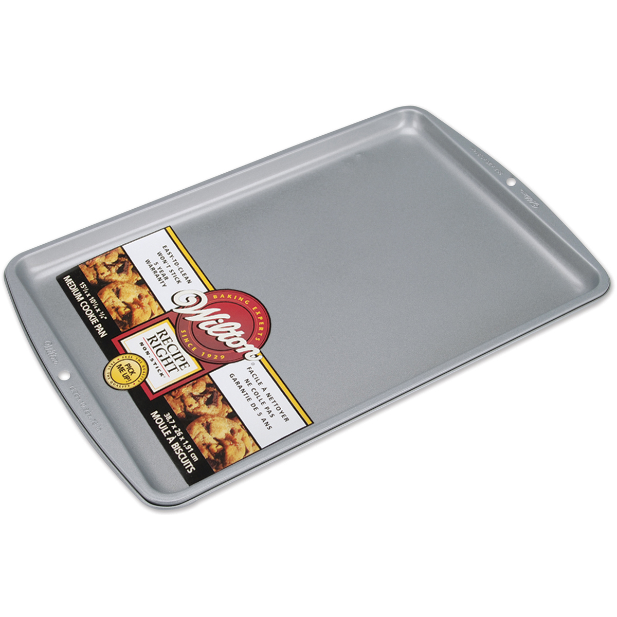 "Wilton Recipe Right 15.25""x10.25"" Non-Stick Cookie Pan 2105-967"